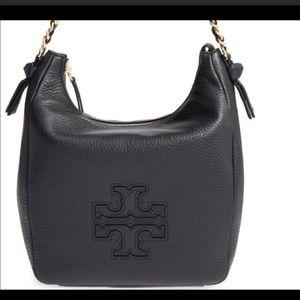 Authentic Tory Burch Harper zip hobo bag